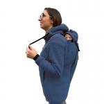 Wear Me Wooljacket 4in1 blue