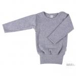 Shirt W-free™ Feinripp grau Grau 09 | 74/80