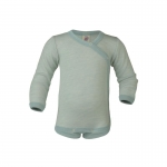 Engel Body Wool/Silk long sleeve Gletscher/Natur 3001 | 62/68