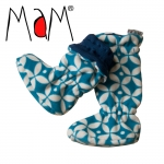 ManyMonths Adjustable Winter Booties Stiefelchen UNiQUE 4-Point Star | M
