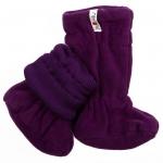 ManyMonths Stiefelchen (Adjustable Winter Booties) Majestic Plum | XS/S