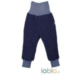 Popolini Baby Pants Woolwalk Dunkelblau 246 | 98/104
