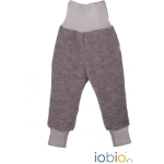 Popolini Hose Wollwalk Anthrazit 11 | 98/104