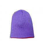 ManyMonths Beanie, wendbare Mütze PurplePeace | S/M