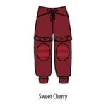ManyMonths ECO Yogahose Gröse S/M Sweet Cherry | S/M