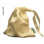 Bag for storage cup – natural cotton Natur   .