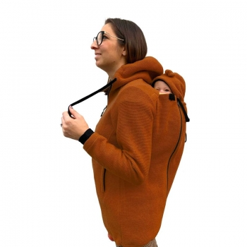 Wear Me veste laine 4in1 orange