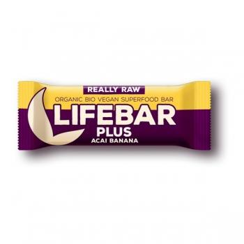 Lifebar Plus - Acai + Banane