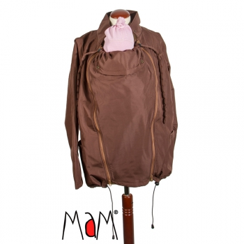 MaM Two-Way Tragejacke Wenge/Nut. InnerCozy | M