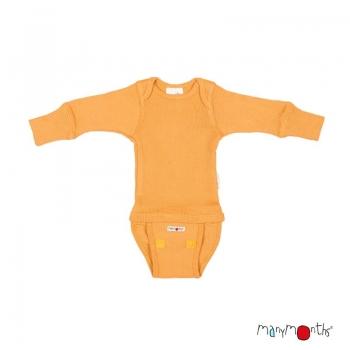 Manymonths Woll-Body/Shirt langarm