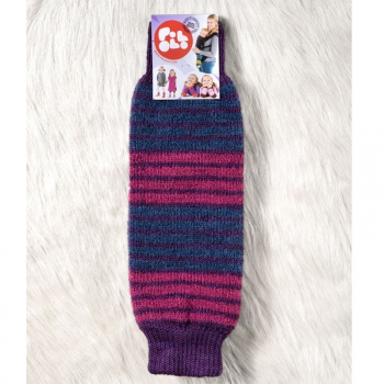 POLOLO Snuggly warmers aubergine rings