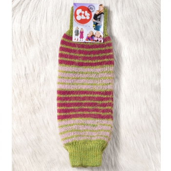 POLOLO Snuggly warmers red/green rings