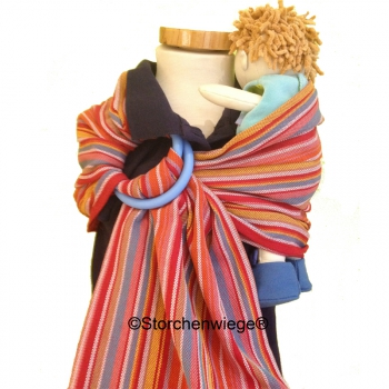 Storchenwiege Doll sling