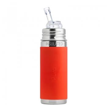 Pura Trinkhalm Isolierflasche 260 ml