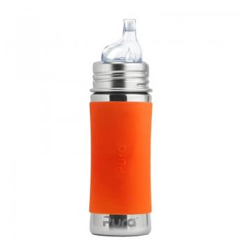 Pura Sippy Bottle 325 ml Orange | .