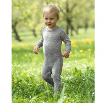Engel Baby-Overall, Wolle/Seide