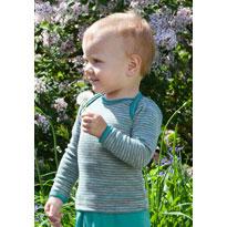 Engel Baby-Schlupfhemd Wolle/Seide