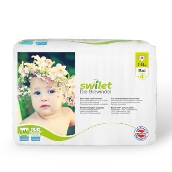 Swilet die Biowindel Maxi 7-16 kg