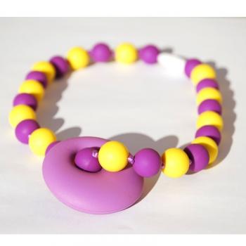 Trage- und Stillkette Arosa Bubbles lila | .