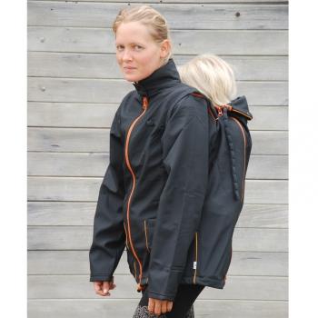 MaM Two-Way Jacket Unique Black Autumn | XS