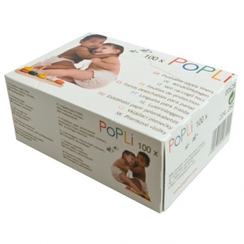 Popli - flushable nappy liners