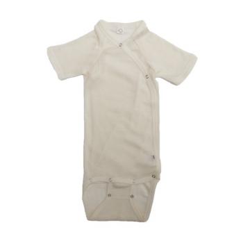 Kimono Body shortsleeve wwol/silk 62/68