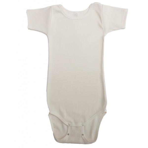 Body manches courtes coton bio