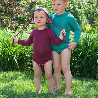 Engel Baby-Body Wolle/Seide