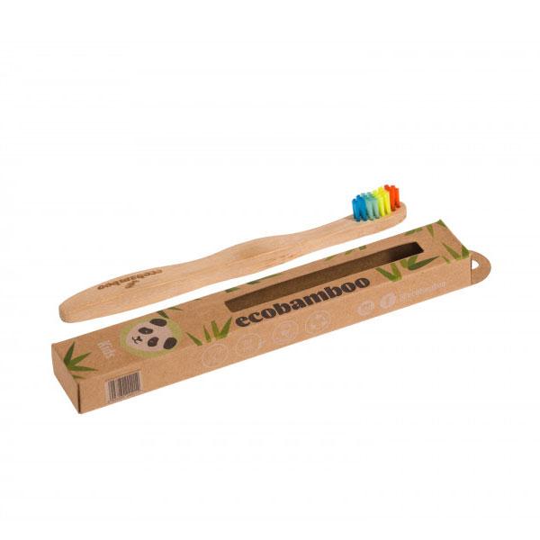 ecobamboo Brosse à dents enfants