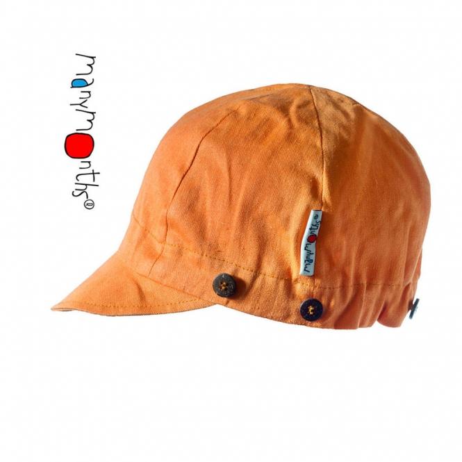 Manymonths Multi Cap– Casquette de soleil Tangerine/Longanberr | S/M/L