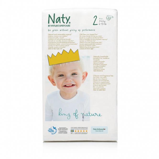 Naty Biowindel FSC Mini 3 - 6 kg 33 Stk/Pack