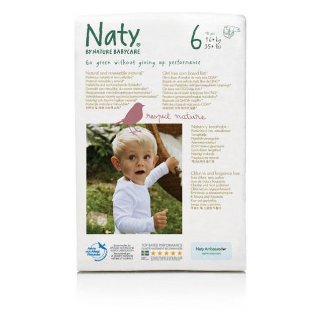 Naty Biowindel FSC Junior XL 16+ kg 17 Stk/Pack
