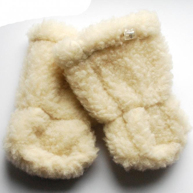 Woll-Stiefel für kleine Traglinge Natur | 1