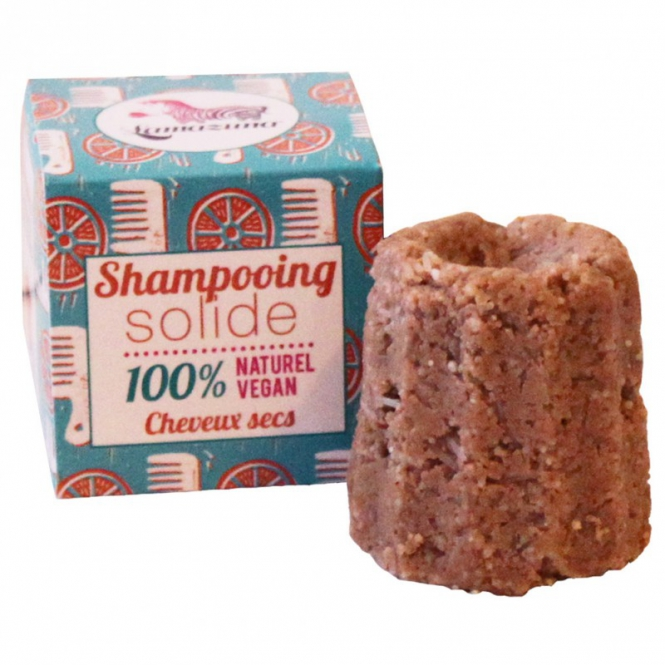 Shampooing solide - cheveux secs