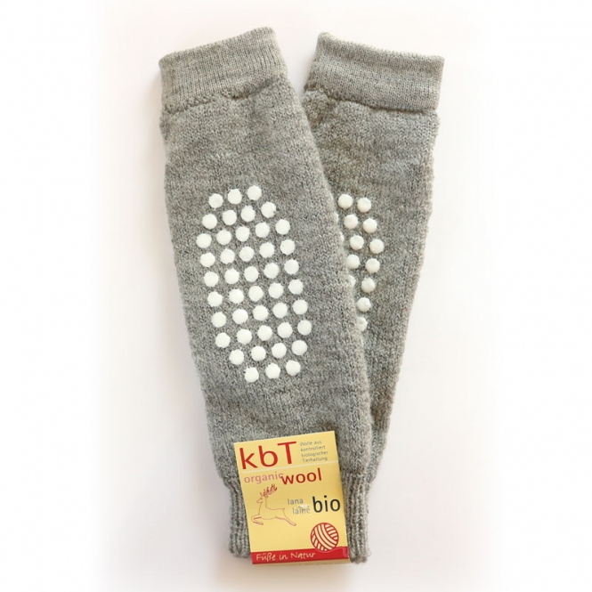 POLOLO Snuggly warmers with stoppers Grau 48 | .